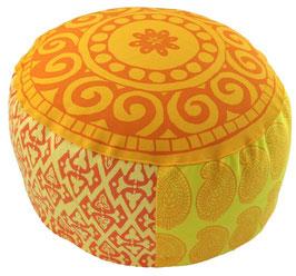 """Kleine Sonne"" Mandala Designer Meditationskissen Gr.M"