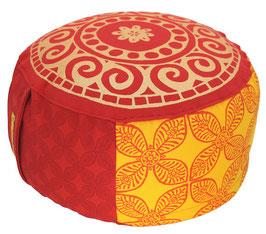 """""""Indien Reise"""" Designer Meditationskissen Gr.M"""