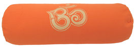 """OM"" orange Designer Yoga Bolster Rolle"