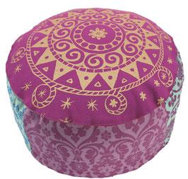 """Etenia Ur-Mandala"" Designer Meditationskissen Gr.M"