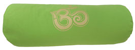 """""""OM"""" apfelgrün Designer Yoga Bolster Rolle -"""