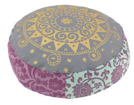 """Etenia-Ur-Mandala"" Designer Meditationskissen Yogakissen Gr.S"