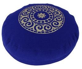 """Designer Meditationskissen Gr.S """"Mandala"""" tinte"""