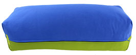 Yoga Bolster eckig  royal + kiwi