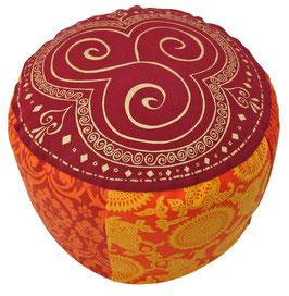 """Shivamogga Trio Kharma"" Designer Meditationskissen Gr.L"