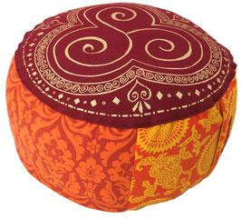 """Shivamogga Trio Kharma"" Designer Meditationskissen Gr.M"