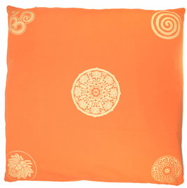 "Designer Meditations-Matte / Zabuton ""rot"" Mandala"
