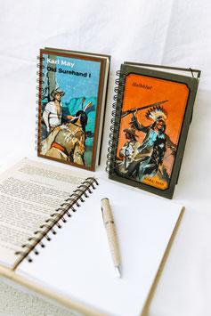 """""""BookNote"""" - Nostalgie-Notizblöcke aus Jugendbüchern"""