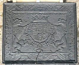"ID 145 - Wappen Philipp III von Spanien ""DOMINVS MIHI ADIVTOR 1608"" - Coat of arms of Philipp III from Spain ( 1578 - 1621 )"