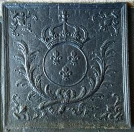 ID 250  Bourbonenwappen - Wappen LOUIS XIV - Fleurs de Lys  -  Coat of arms of the Sun King Louis XIV