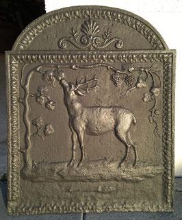 ID 256  Hirsch mit Weintrauben  -  Deer with Grapevine