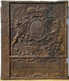 ID 271  Wappen Nassau - Saarbrücken 1733 Geislautern  -  Coat of arms of the county of Nassau-Saarbrücken 1733 Geislautern