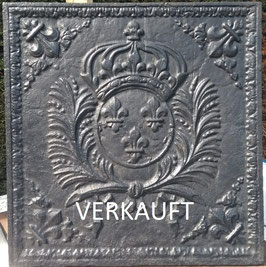 ID 209 Bourbonenwappen_Fleurs_de_Lys - Coat of Arms of Louis XIV - the SUN KING
