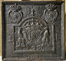 """ID 270 Lothringer Wappen Leopold I """"1701"""" Nachguss  -  Coat of arms of the Duchy of Lorraine """"1701"""" Recast 19th century"""