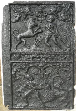 ID 112 - Samson kämpft mit dem Löwen / Herkules im Kampf mit dem Höllenhund Cerberos  - Samson fights with the Lion / Hercules fights Cerberus