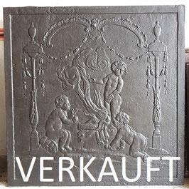 ID 217  Allegorie des Winters _ Drei Putti machen Feuer - Three putti lighting a fire - Allegory of Winter