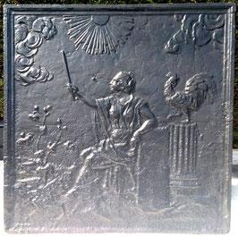 ID 210 Aurora - Göttin der Morgenröte mit Hahn und Fackel - Aurora - goddess of the dawn