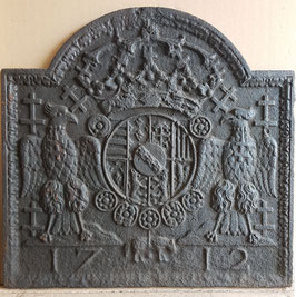 ID 257 Lothringer Wappen 1712 Leopold I  -  Coat of Arms of Lorraine  / Leopold I, Duke of Lorraine