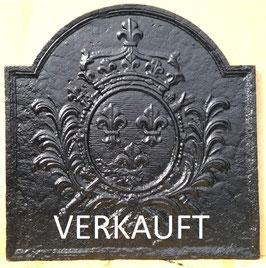 ID 219  Bourbonenwappen -Fleurs de Lys - Louis XIV - Coat of Arms of Louis XIV - the SUN KING - Fleurs de Lys