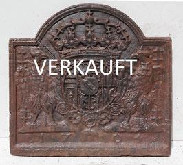 "Wappen Leopold I von Lothringen mit Greifen - Coat of Arms of Lorraine ""1704"" / Leopold I, Duke of Lorraine ""1704"""