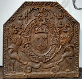 ID 247  Bourbonenwappen - Francois, Herzog von Anjou  -  Coat of Arms of Bourbon