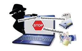 Security-Set 1:   für Smartphone, Tablet oder Notebook WebCam