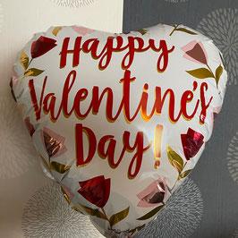 Valentins Luftballon rot