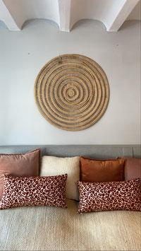 Wand decoratie naturel handgemaakt