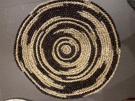 Naturel zwart mat