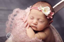 Fotoaccessoire Haarband Babyfotografie Prop Taufe