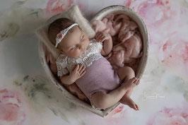 Outfit Babyfotografie Newborn Neugeboren Haarband