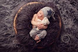 Set Hose & Mütze Neugeborenenfotografie