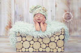 Häkelmütze Newborn