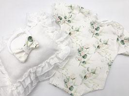 Babyfotografie Set Body Haarband und Kissen