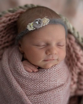 Baby Fotografie Haarband Prop Fotoshooting Taufe