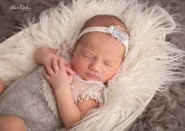 Wundervolles Baby Fotografie Haarband & Body