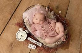 Mädchen Set Newborn Neugeborenen Set Neugeborenen Requisiten Foto Outfit Baby Body Baby Fotografie Prop Baby Haube mit Ohren