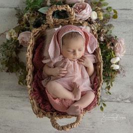 Neugeborenen Set Neugeborenen Requisiten Foto Outfit Baby Hose Baby Fotografie Prop Neugeborenen Accessoires Neugeborenen Mütze