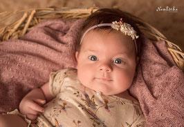 Mädels Newborn Outfit mit Haarband