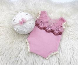 Newborn romper, Neugeborenen Fotografie Requisiten, Haarband, Headband, Fotografie, Newborn props, Foto props, Props newborn