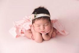 Mächen Haarband Babyfotografie Shooting Taufe