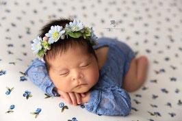 Babyfotografie Haarband Fotoaccessoires Blumenkranz
