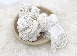 Spitzen Tuch Wrap Babyfotografie beige