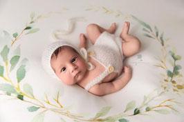 Neugeborenen Set Neugeborenen Requisiten Foto Outfit Teddy Häkel Mütze Baby Fotografie Outfit Junge Häkel Set Prop Neugeborenen Accessoires