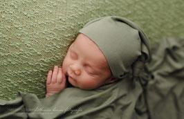 Basic Wrap Set Mütze & Tuch Baby Fotografie Babyshooting foto requisiten Fotoshooting