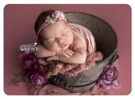 Fotoaccessoire, Haarband,Babyphotografie,Baby-Shooting, Baby, Mädchen, Haarband für Taufe, Haarband für Neugeborenenphotografie, Prop