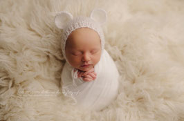 Fotoaccessoire Baby Fotografie weiß baby mütze Neugeborenenfotografie Requisiten Baby Kleidung