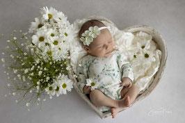 Babyfotografie Set Babyshooting Haarband Baby