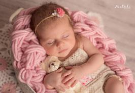Fotoaccessoire set Babyfotografie Haarband
