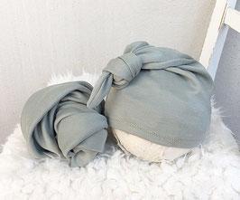 Basic Wrap Set Mütze & Tuch